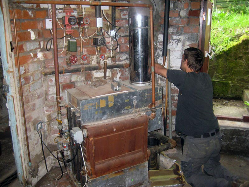 Worcester Bosch 40CDi Boiler Replacement