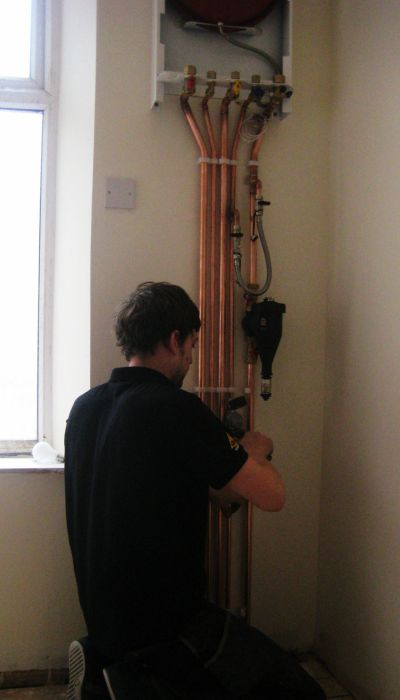Intergas 28KW Combi Installation & Bathroom Refurb