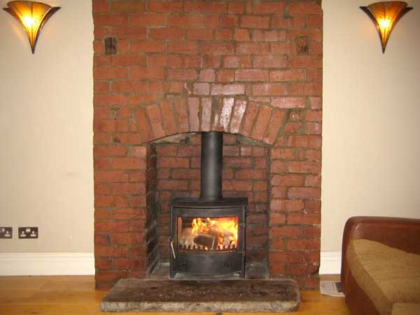 Town & Country 'Thornton Dale' Stove Installation